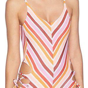 PRAIA ARCO IRIS one-piece swimsuit